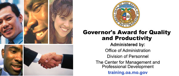 Governor's Advisory Council on Quality and Productivity photo collage